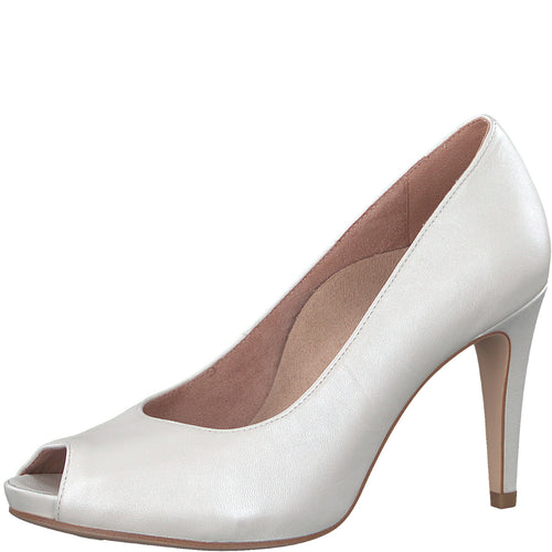 Tamaris Peeptoe Pumps weiß 1-1-29301-20/101