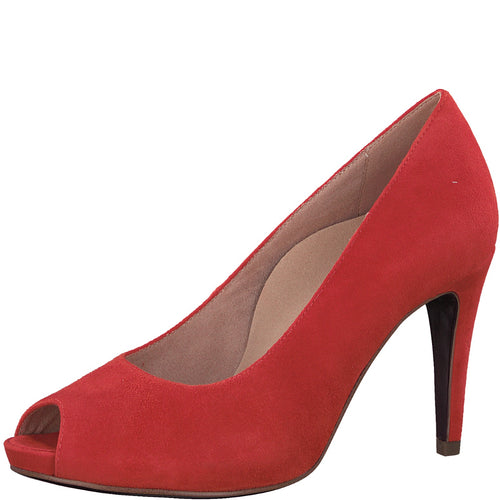 Tamaris Peeptoe Pumps rot 1-1-29301-20/595