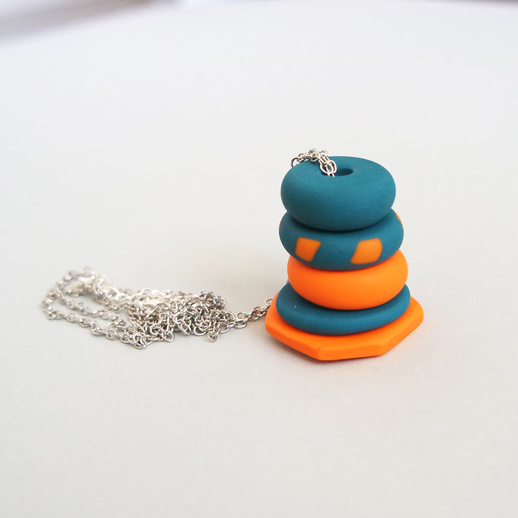 CLAYTASTIC FLY FREE BIRDS NECKLACE | THE TWINEES x MADE BY PEARL