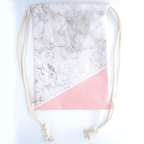Paddlepop Swirl Bundle: Pink Marblelicious (Bag + Necklace) - The Twinees
