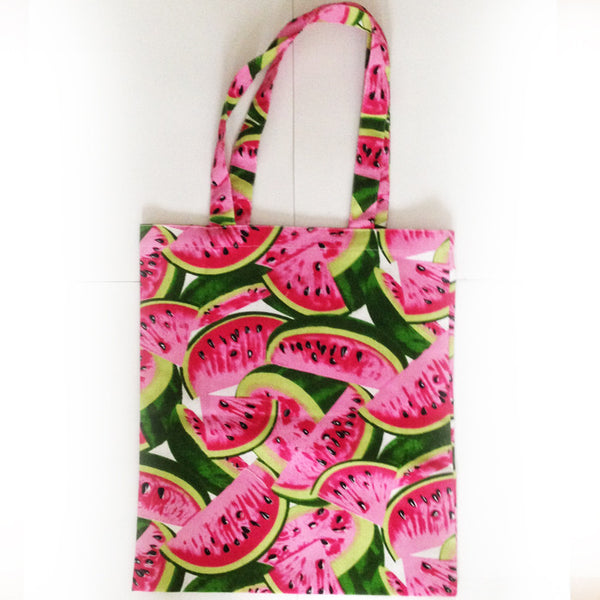 Watermelon Patterned Tote Bag - The Twinees