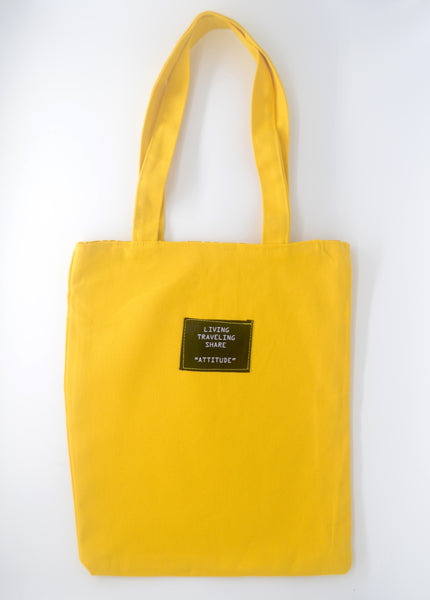 Interchangeable Yellow Tote Bag