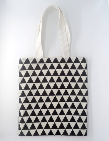 Interchangeable White Tote Bag