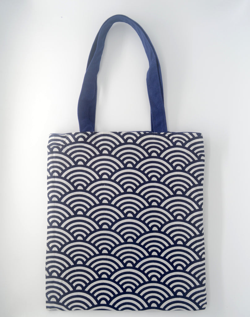 Interchangeable Blue Tote Bag
