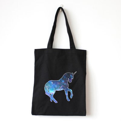 Galactical Unicorn Tote Bag - The Twinees