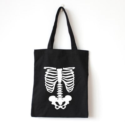 Skeleton Body Tote Bag - The Twinees