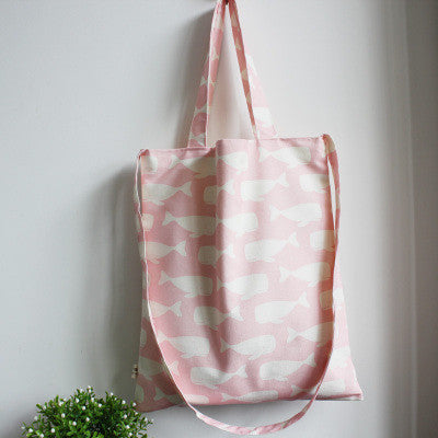 Pink Swimming Whales Sling Bag - The Twinees