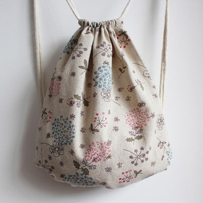 Dandelions Of The Sky Drawstring Bag - The Twinees