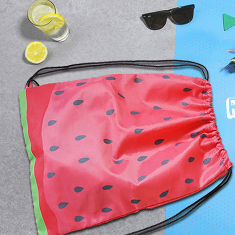 Summer Watermelon Drawstring Bag - The Twinees