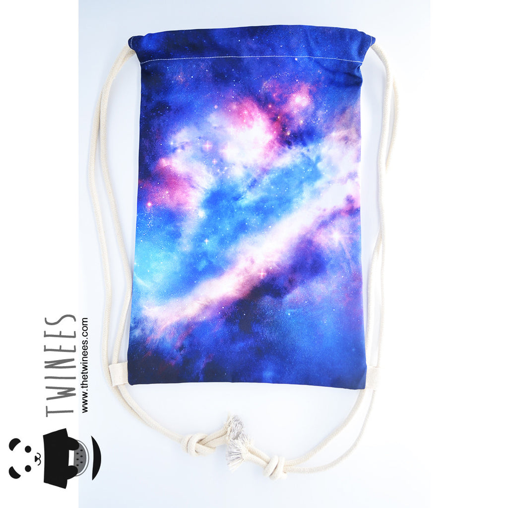 Stellar Galaxy Drawstring Bag - The Twinees