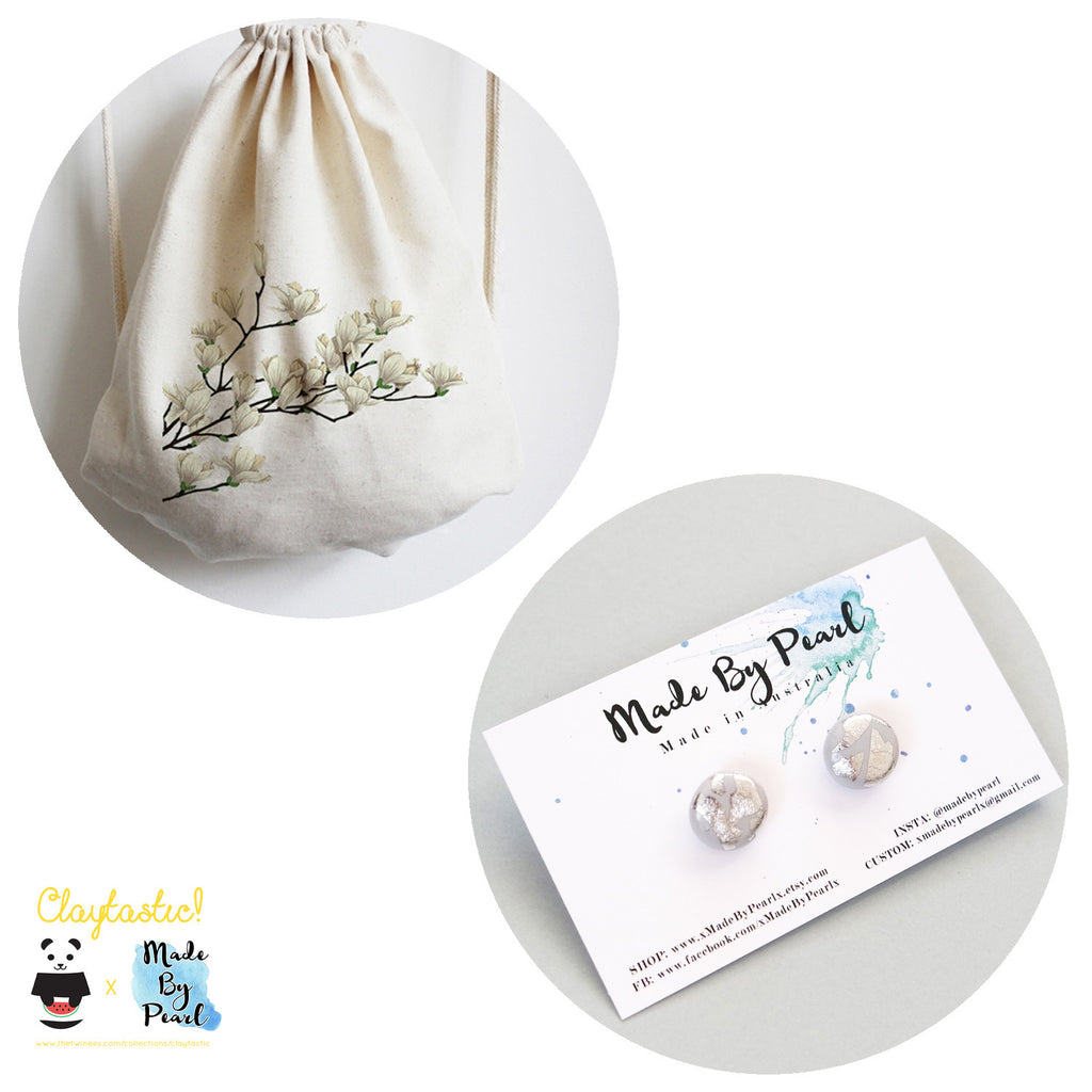 Spring Elegance Bundle (Bag + Earrings) - The Twinees