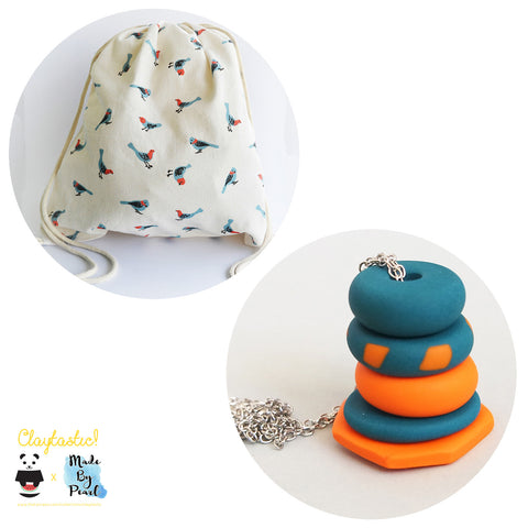 Fly Free Birds Bundle (Bag + Necklace) - The Twinees