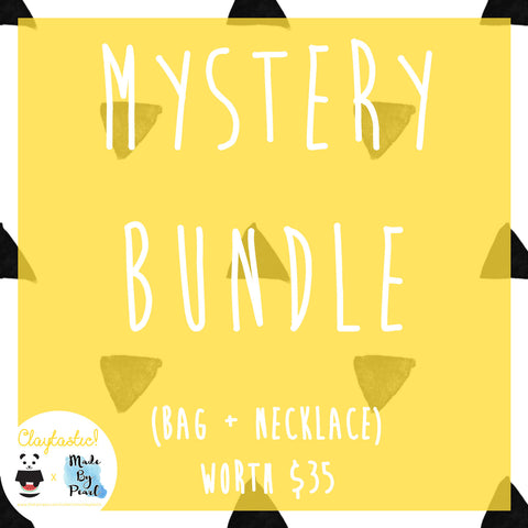Claytastic Mystery Bundle (Bag + Necklace) - The Twinees