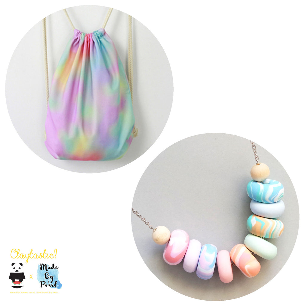 Paddlepop Swirl Bundle: Ice Cream (Bag + Necklace) - The Twinees