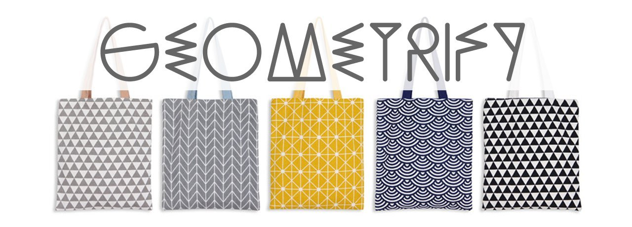 Geometrify Interchangeable Totes