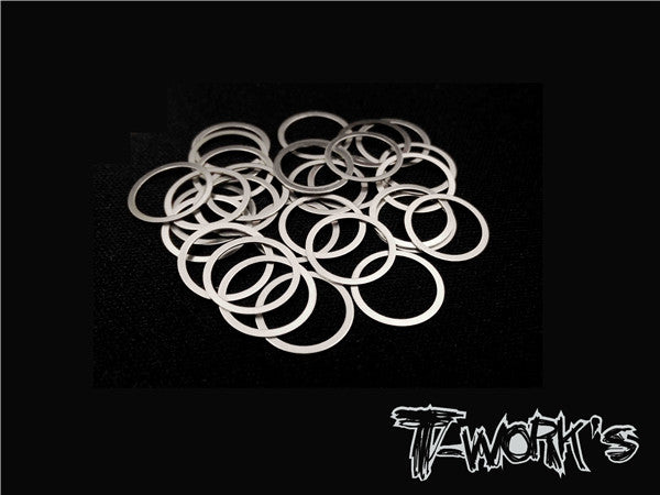 TA-096-10 10mm X 0.05mm Shim Washer 30pcs.