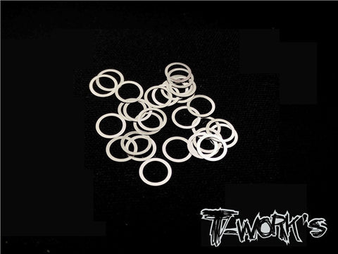 TA-099-5 5mm X 0.3mm Shim Washer 30pcs.