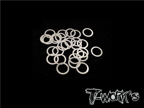 TA-097-6 6mm X 0.1mm Shim Washer 30pcs.