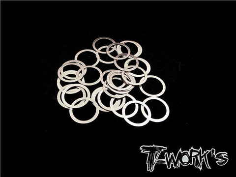 TA-099-8 8mm X 0.3mm Shim Washer 30pcs.