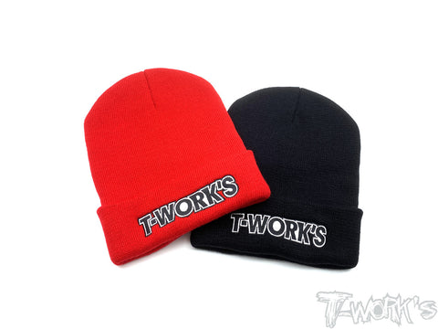 AP-005  T-Work's Beanie ( Black //Red)