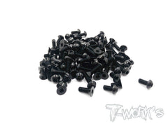 ASS-4X 7075-T6 Screw set 111pcs.( For Serpent Project 4X )