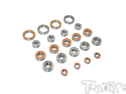 BBS-MBX8ECO Precision Ball Bearing Set ( For Mugen MBX8 ECO ) 22pcs.