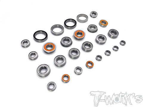 BBS-RC8T3.2E	Precision Ball Bearing Set  ( For Team Associated RC8 T3.2E ) 26pcs.