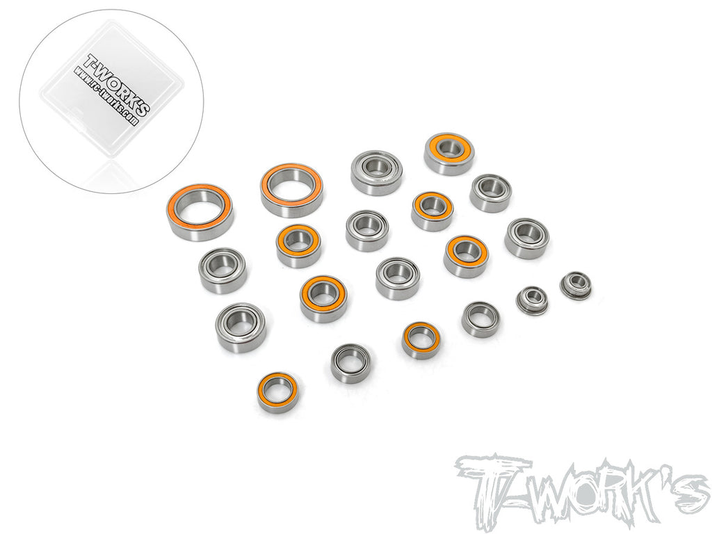 BBS-S12-2 Precision Ball Bearing Set ( For SWORKZ S12-2 )20pcs.