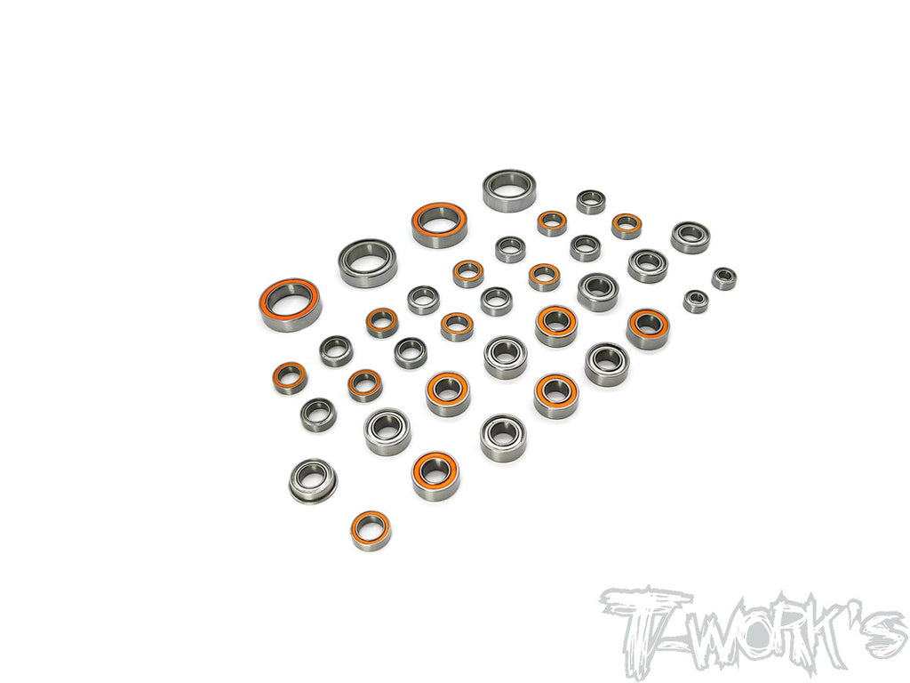 BBS-TC01 Precision Ball Bearing Set ( For Tamiya Formula E Gen2 Car TC-01) 36pcs.