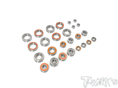 BBS-TLR22X-4	Precision Ball Bearing Set ( For TLR 22X-4 ) 26pcs.