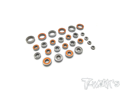 BBS-YZ4-SF2 Precision Ball Bearing Set  ( For Yokomo YZ-4 SF2  )26pcs.