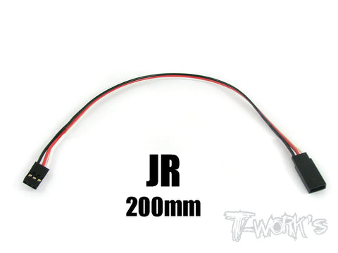 EA-011 JR Extension with 22 AWG heavy wires 200mm