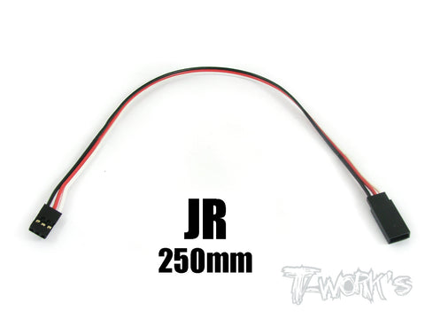 EA-012 JR Extension with 22 AWG heavy wires 250mm