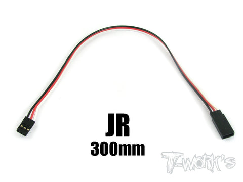 EA-013 JR Extension with 22 AWG heavy wires 300mm