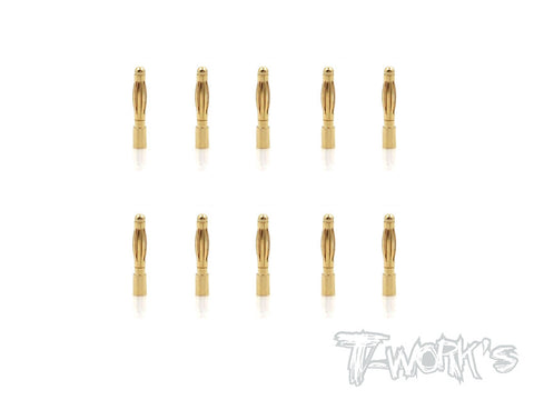 EA-028-2M-10  2mm Male Battery Connector ( 10pcs. )