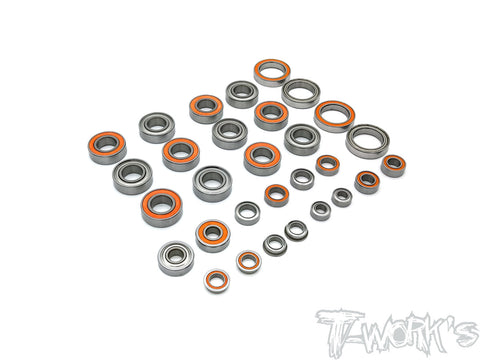 BBS-SRX8GT Precision Ball Bearing Set ( For Serpent SRX8GT  )30pcs.