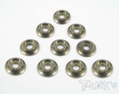 TA-004 Anodized Alum M3 Buttom Head Screw Washers (10 pcs)