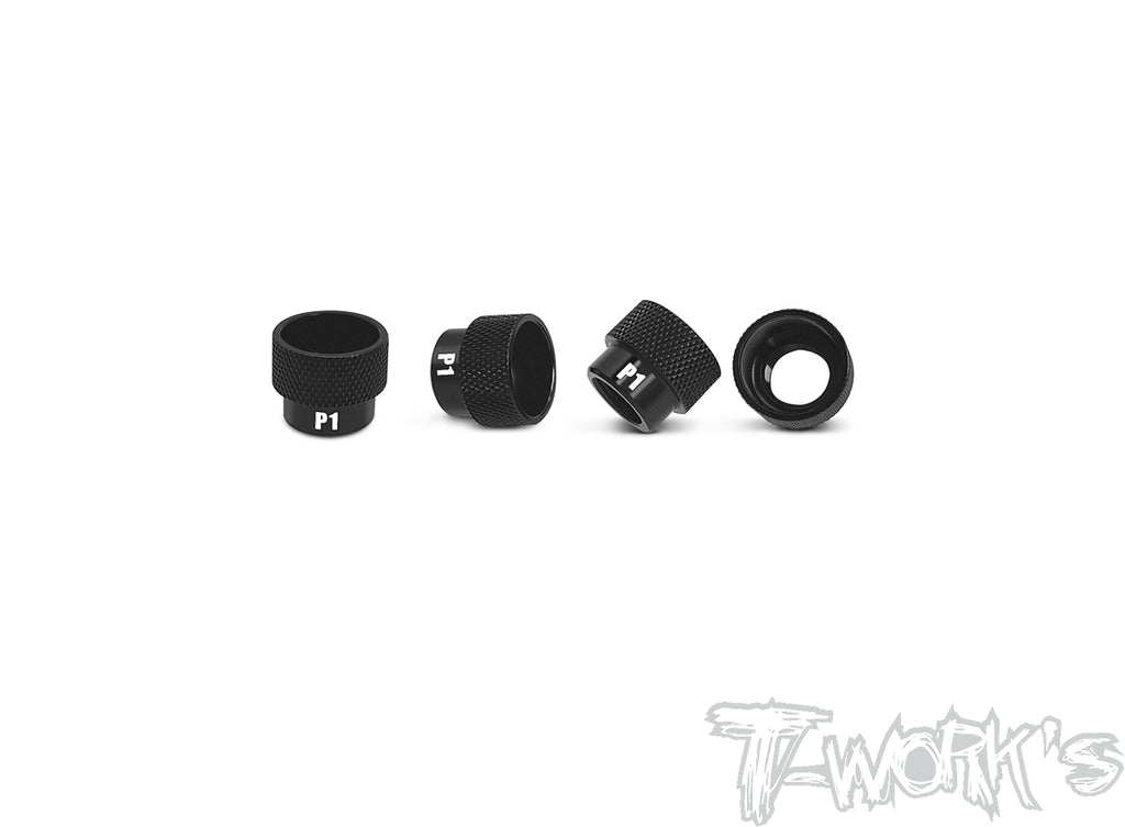 TA-038 Aluminum Nut For 1/8 Off Road Set Up Stand ( 12mm x P1.0 )