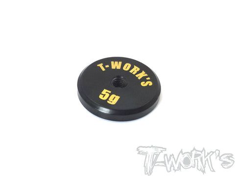 TA-066L Anodized Precision Balancing Brass Weights 5g ( Low C G )