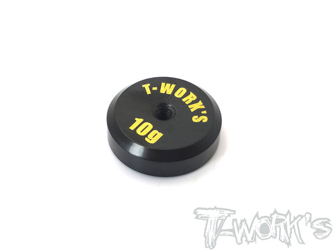 TA-067L Anodized Precision Balancing Brass Weights 10g ( Low C G )