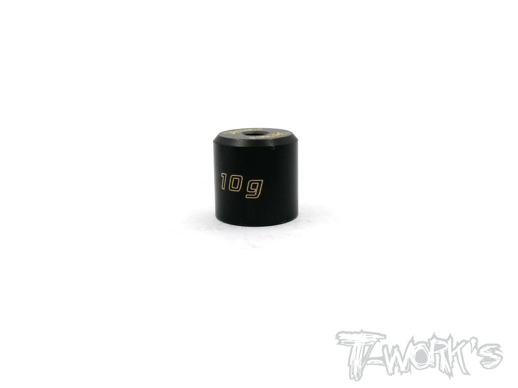 TA-067 Anodized Precision Balancing Brass Weights 10g