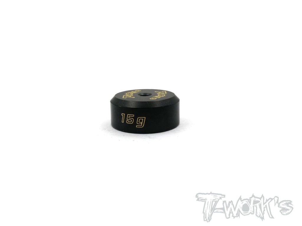 TA-078 Anodized Precision Balancing Brass Weights 15g
