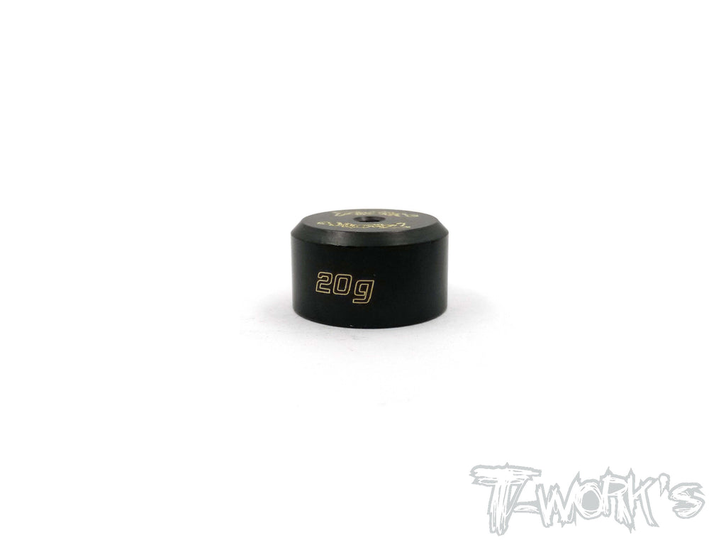 TA-079 Anodized Precision Balancing Brass Weights 20g