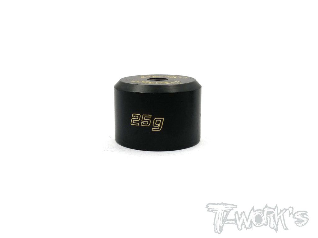TA-080 Anodized Precision Balancing Brass Weights 25g