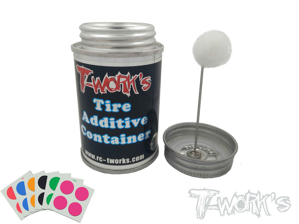 TA-100 Tire Additive Container with application sponge (100ml)