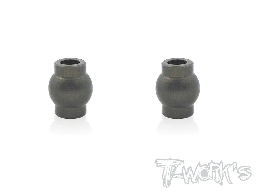TO-104-D  7075-T6 Hard Coated Alum.7mm Mounting Ball  ( For  Hong Nor & OFNA X3/X3E Sabre,IGT8) 2pcs.