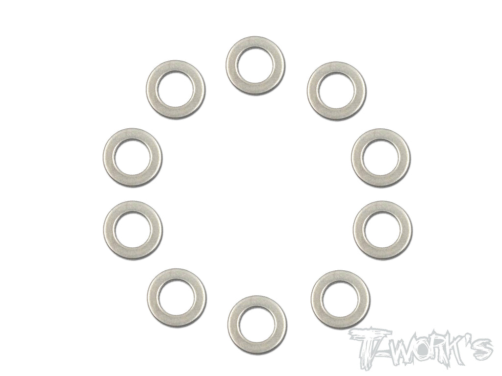 TA-105-0.3  7x12x0.3mm  Stainless Steel Shim Washer ( 10pcs. )