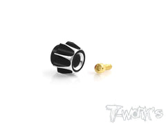 TA-117 Alum. Switch Button ( For Sanwa & Airtronics MT44 )
