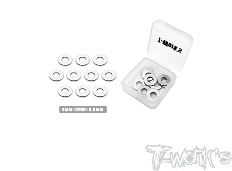 TA-123 4 x 9 Steel shim Washer ( 10pcs. )