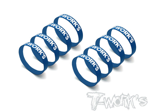 TA-136-A Tire Gluing Band ( 1/8 Buggy ) 8pcs.